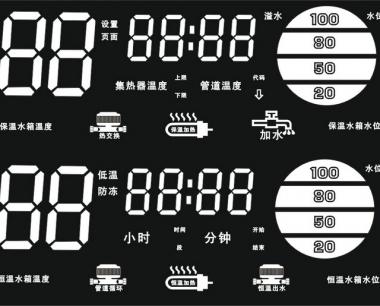 智恩fc01型太阳能集热控制柜功能介绍