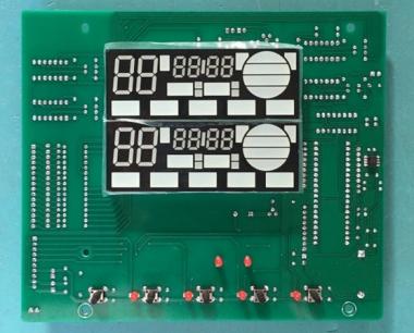 太阳能集热工程控制柜显示板,工程控制主板(单片机控制-弱电板)