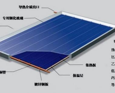平板太阳能热水工程