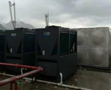贵州道真职业高中40吨热水工程