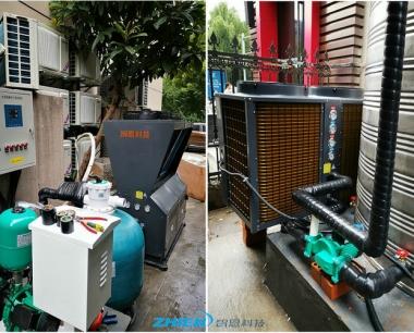 酒店足浴馆热水工程:杭州全季足浴、洗浴中心热水工程