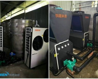 工厂生产热水工程:宁波巨藤陶瓷阀生产热水工程
