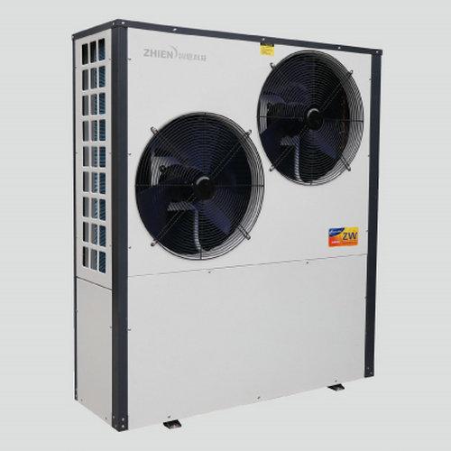 空气能热泵5匹机侧出风