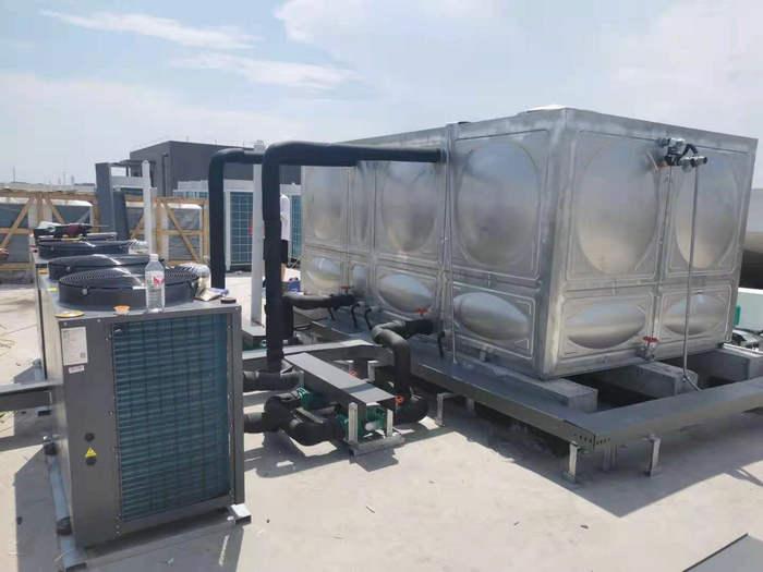 兰溪党校空气能热水工程-空气能热泵厂家