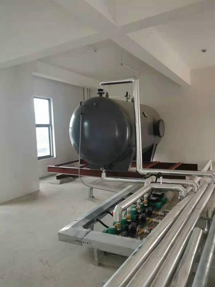 安吉幼兒園熱水工程(承壓式熱水系統)-空氣能熱泵廠家