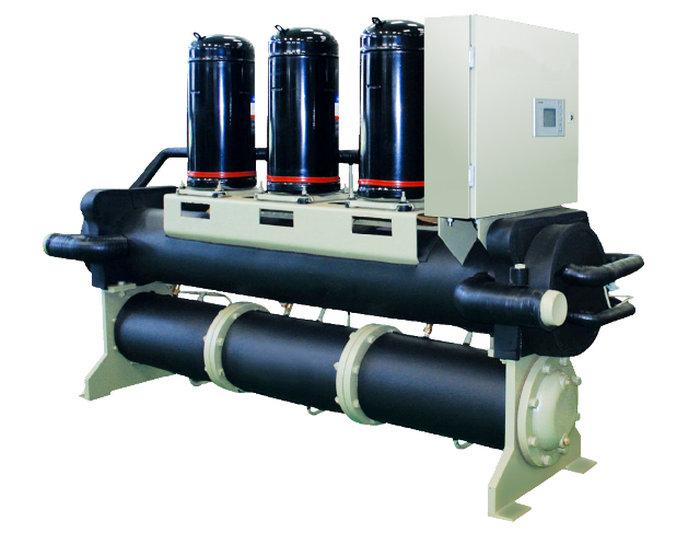 污水余热回收水源热泵